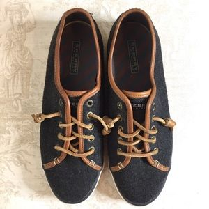 Sperry Seacoast Varsity Wool Loafers
